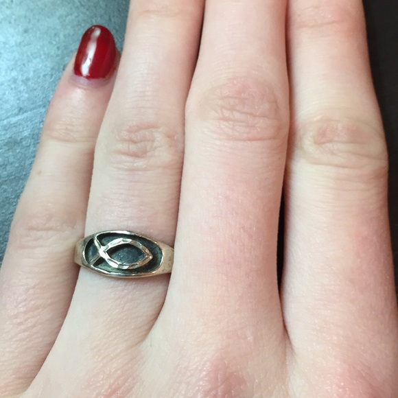 Jewelry - Christian fish ring